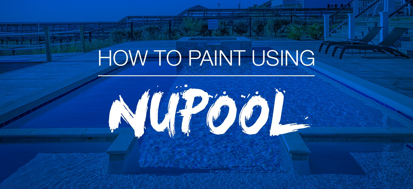 How To Paint Your Swimming Pool | Nutech Paint